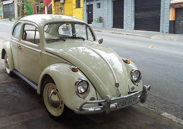 Un Volkswagen escarabajo