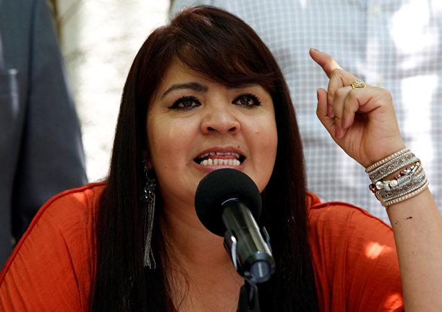 Nestora Salgado, candidata al Senado de México