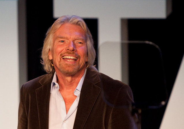 Richard Branson, fundador de Virgin