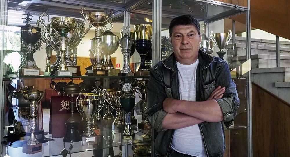 Rinat Dasáyev, histórico portero de la selección soviética y del Spartak