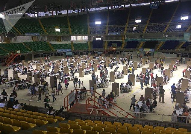 Ambiente en la ciudad de Cali durante las elecciones de Colombia del 27 de mayo de 2018