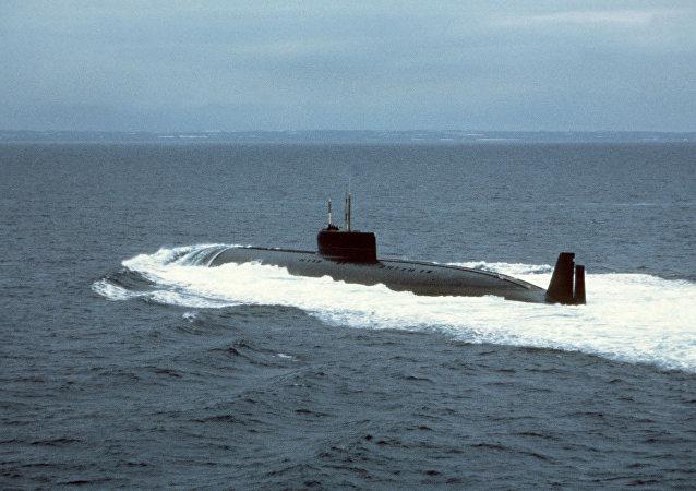 El sumergible atómico ruso K-162 'Anchar'
