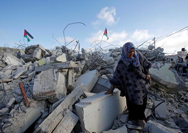 Demoliciones de casas palestinas en Cisjordania (archivo)