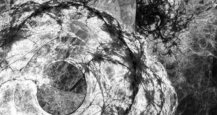 Materia oscura (ilustración)