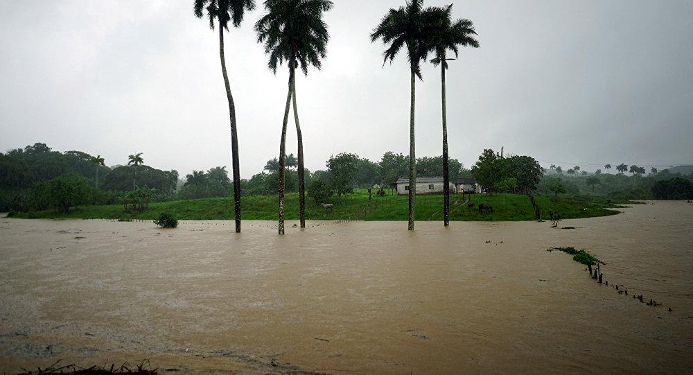 Fuertes lluvias causan estragos en varias regiones del centro de Cuba