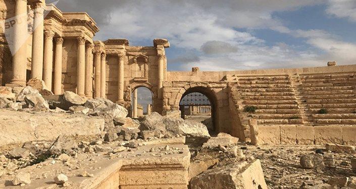 Ruinas de Palmira, Siria (archivo)