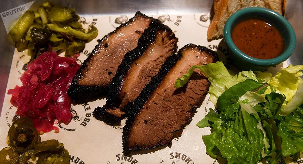Brisket de Tejas, la especialidad de la casa de Smoke BBQ