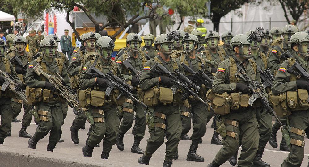 Militares de Colombia (archivo)
