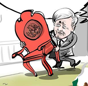 Obrador llevará su propio 'trono' al Palacio Nacional