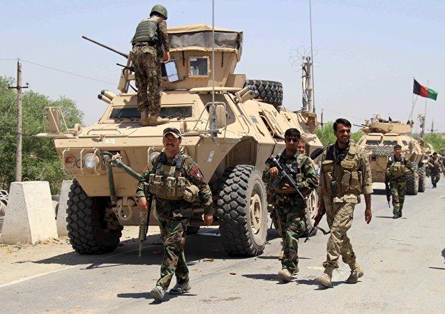 Fuerzas Armadas de Afganistán (Archivo)