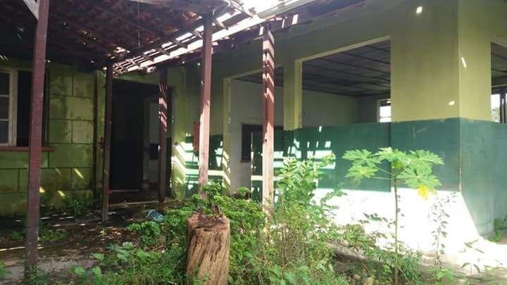 Degradación edilicia en una escuela del Estado de Pará, Brasil.