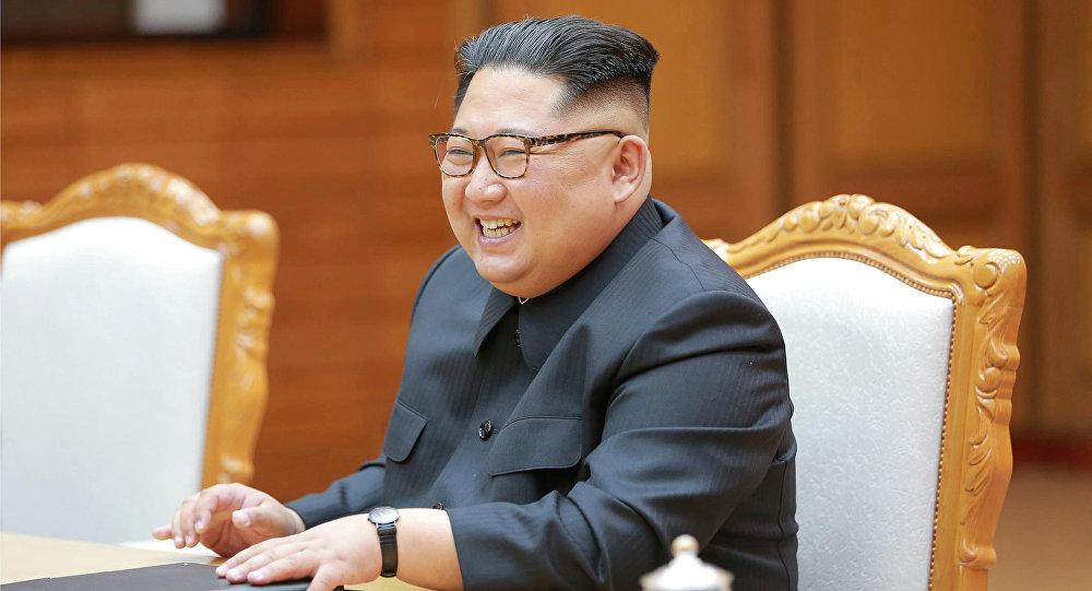 Kim Jong-un, lider de Corea del Norte