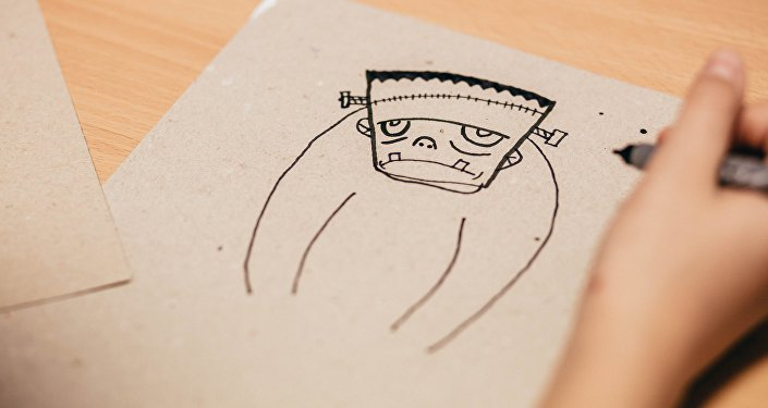 Una imagen de Frankenstein