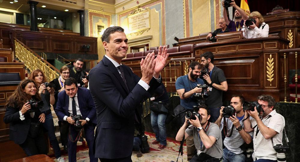 Pedro Sánchez, secretario general del PSOE, nuevo presidente del Gobierno de España
