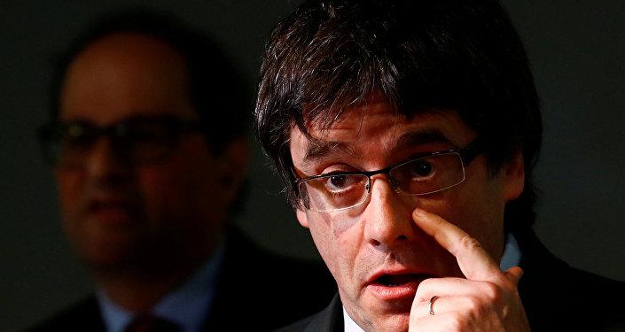 Carles Puigdemont, el expresidente de la Generalitat de Cataluña