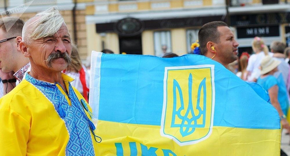 Una marcha nacionalista en Kiev