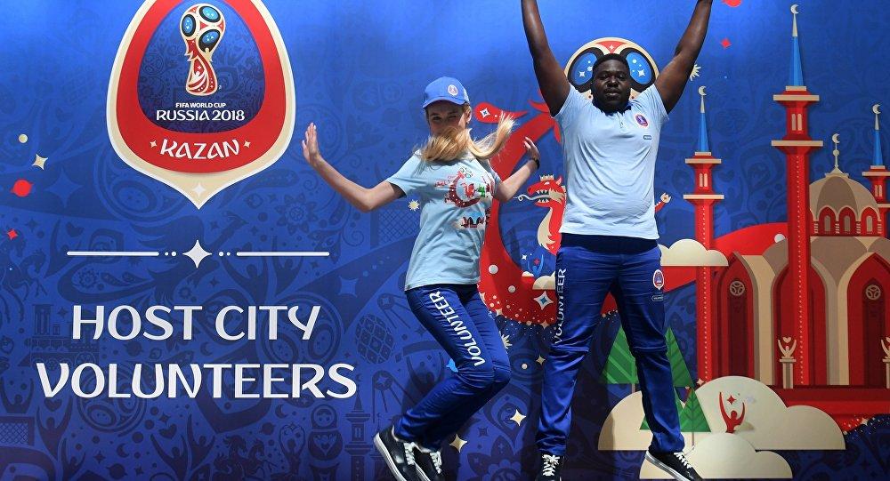 Voluntarios del Mundial 2018