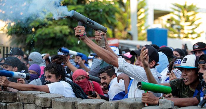 Santos pide a la OEA intervenir en crisis de Nicaragua
