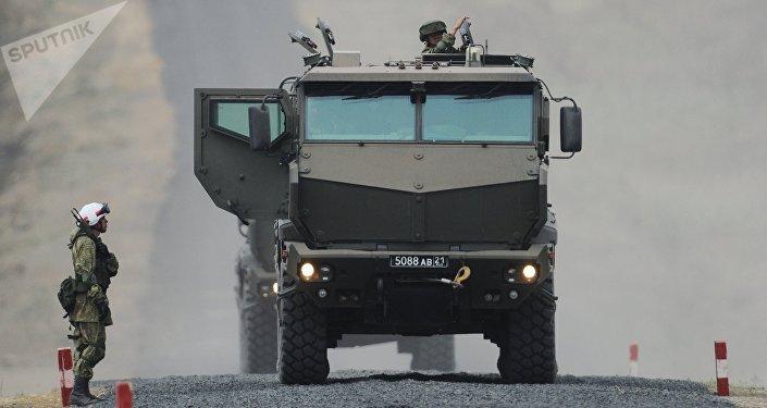 Taifun-K, vehículo blindado ruso