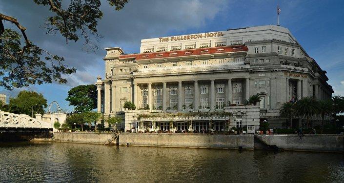 Hotel Fullerton en Singapur