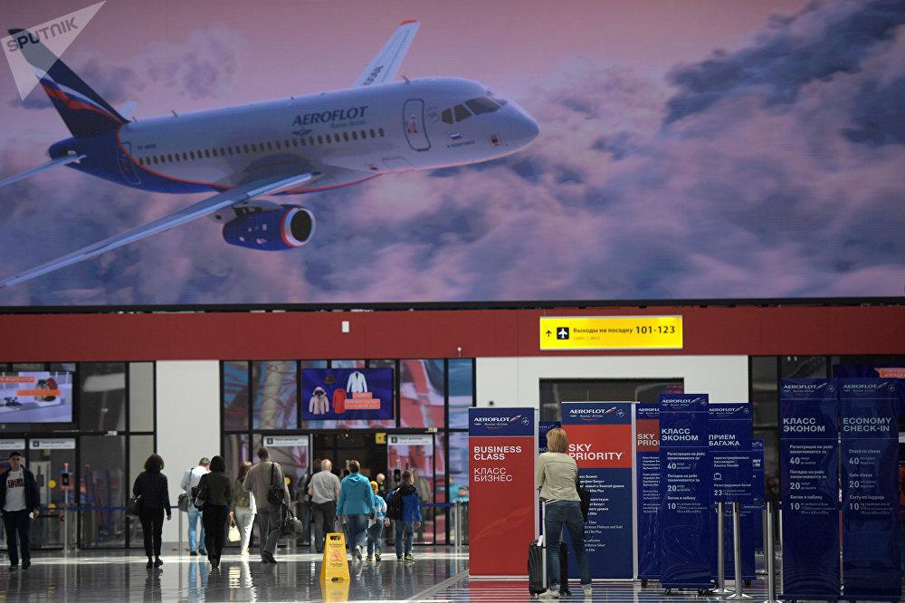 La terminal B de Sheremétievo espera acoger a unos 20 millones de personas al año