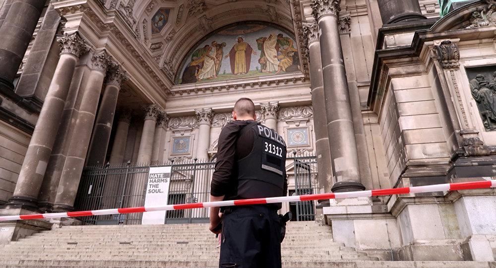 Un policía en Berlín