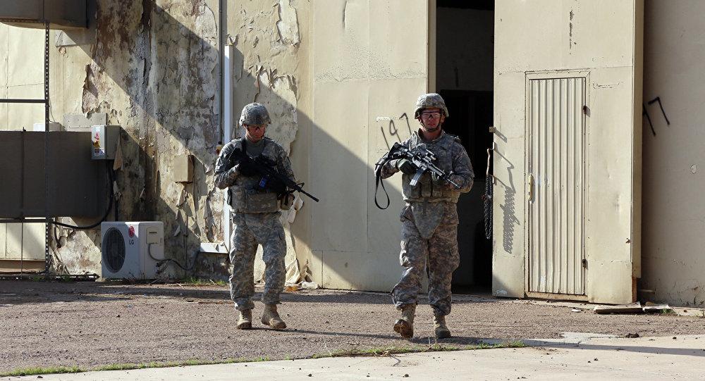 Soldados estadounidenses en Irak (archivo)