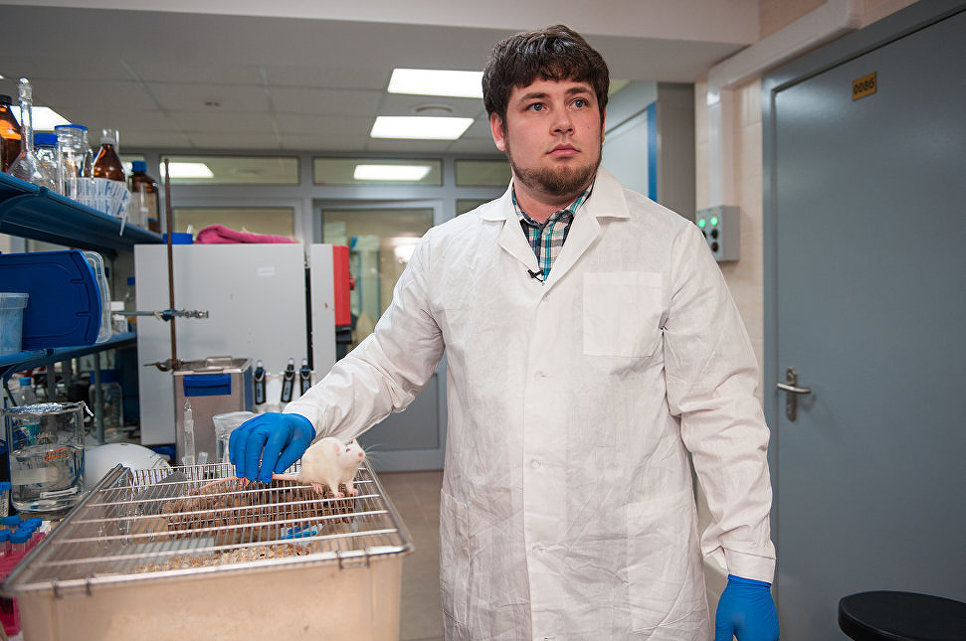 Maxim Abakúmov, el jefe del laboratorio Nanomateriales Biomédicos de la NUST MISIS