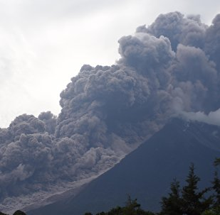 Volcán de Fuego, Guatemala (archivo)