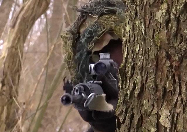 La precisión infalible de los francotiradores militares rusos en acción
