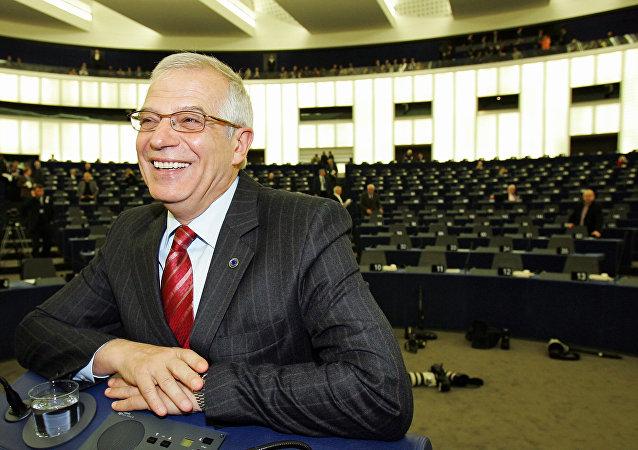 Josep Borrell, político socialista español