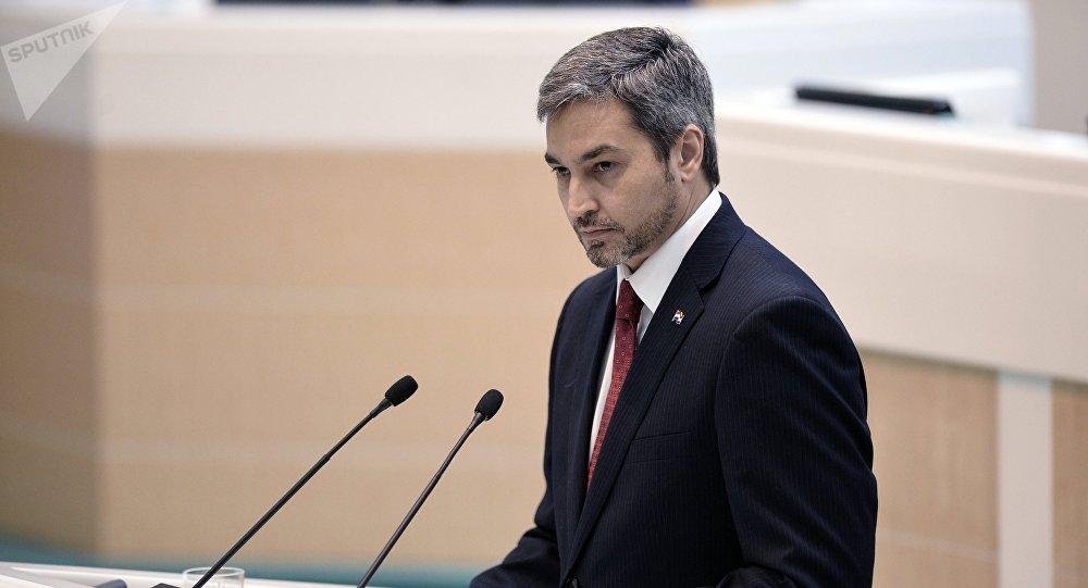 Mario Abdo Benítez, presidente de Paraguay