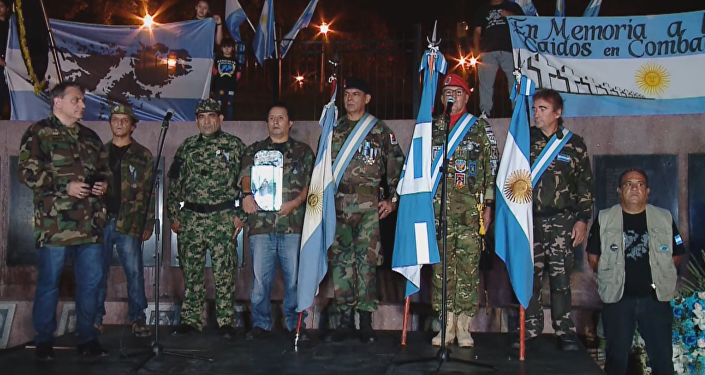 Argentina conmemora la guerra de las Malvinas (vídeo)