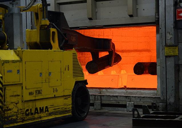 Producción de titanio en la empresa rusa Vsmpo-Avisma