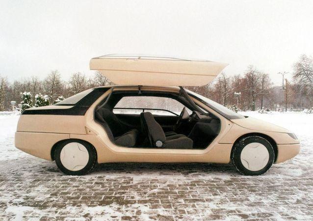Los 'concept cars' a la socialista, una visión del futuro automovilístico de la URSS