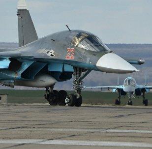 El bombardero táctico ruso Su-34