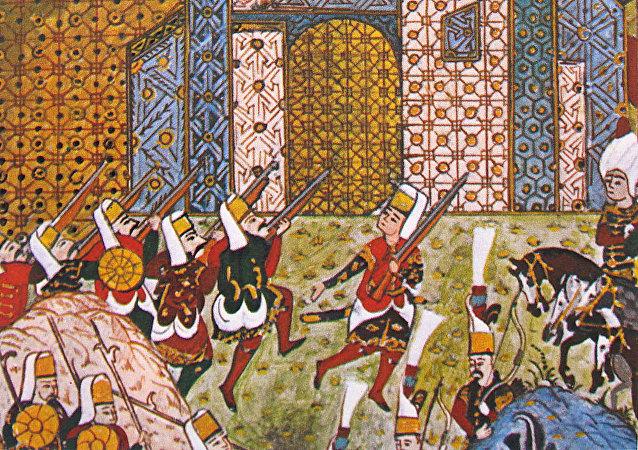 Los jenízaros del Imperio Otomano