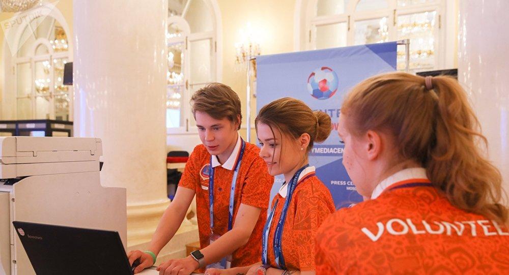 Voluntarios del Mundial 2018 en Rusia