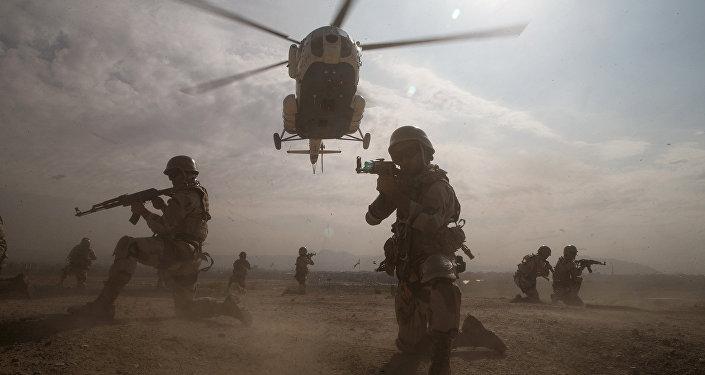 Ejercicios militares en Irán (imagen referencial)