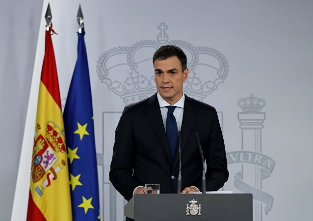 Pedro Sánchez, el presidente del Gobierno de España