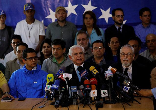 Omar Barboza, presidente de la Asamblea Nacional de Venezuela