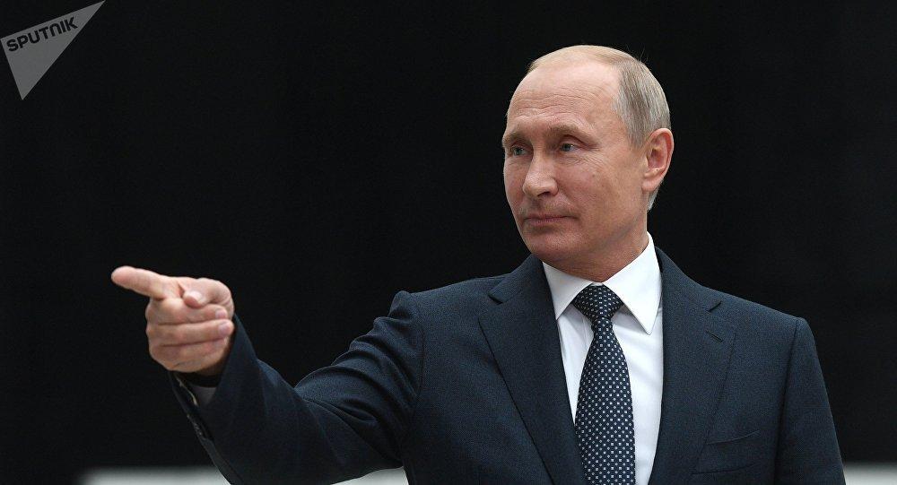 Vladímir Putin, del presidente de Rusia