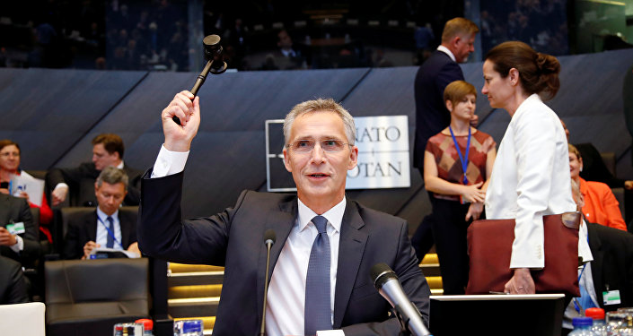 Jens Stoltenberg, secretario general de la OTAN, preside la reunión de los ministros de Defensa de la alianza