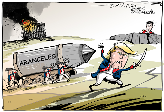 Donald Trump espera resolver acuerdos comerciales
