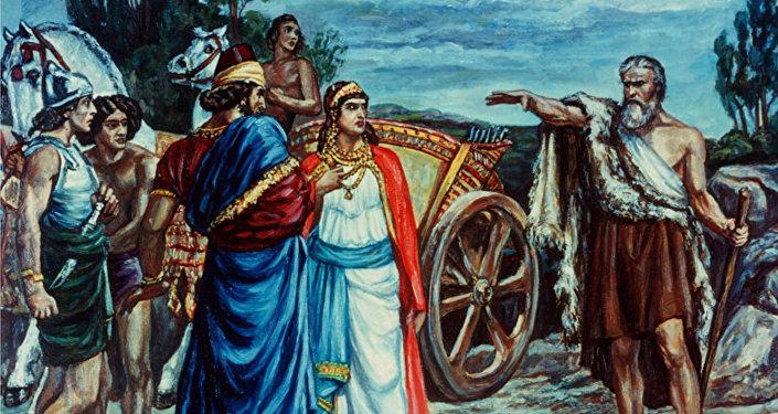 El rey bíblico Acab