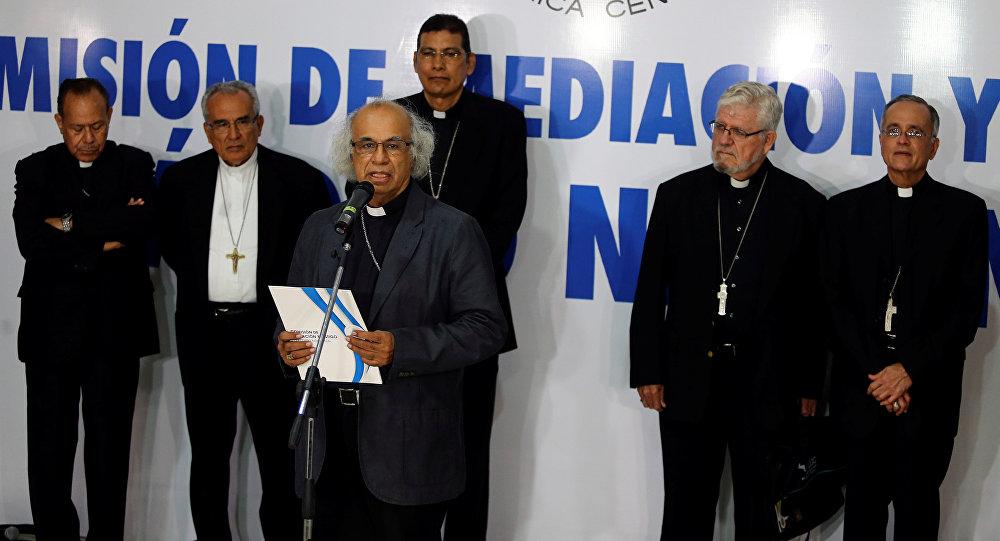 Los obispos de la Conferencia Episcopal de Nicaragua