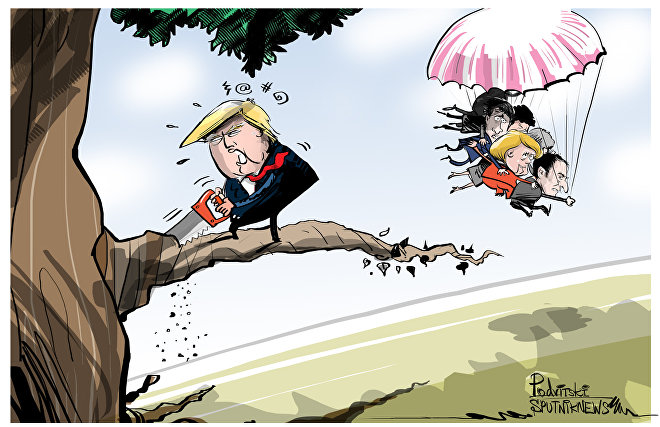 Trump insiste en reintegrar a Rusia al G-7