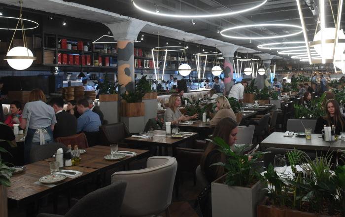 Restaurante Quesería en Moscú