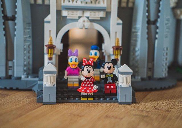 Los personajes de Disney de Lego (imagen referencial)