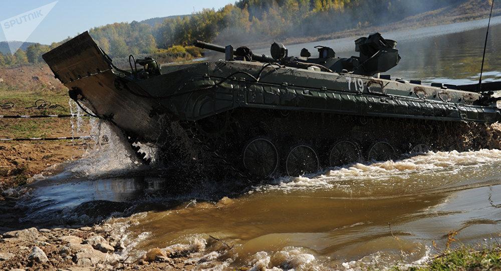 Мehículo de combate de infantería BMP-1, imágen referencial
